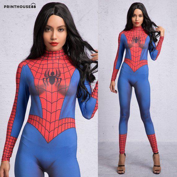 Spiderman Costume For Women, Spiderman Cosplay, Spiderman -9448