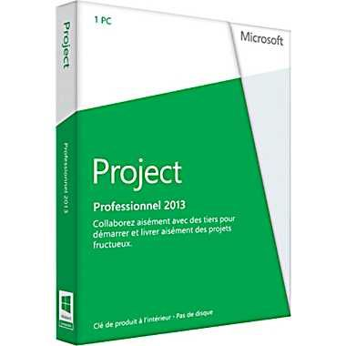 Microsoft Project Professional 2013 - $1,399.99 Easily collaborate with others to quickly start and deliver winning projects.  Stay organized and keep your projects on track with the only project management system designed to work seamlessly with other Microsoft applications and cloud services. Project Professional 2013 can be used as a standalone product or can be connected to a server.