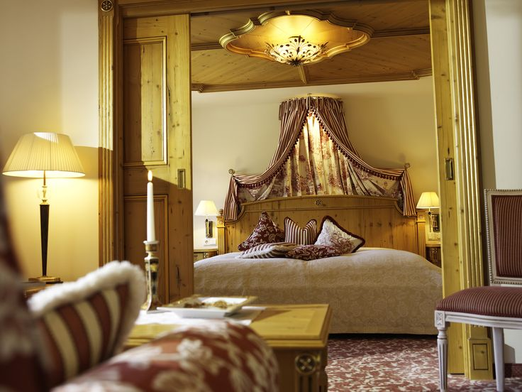 The rooms at Hotel Krone are spacious and extremely comfortable.
