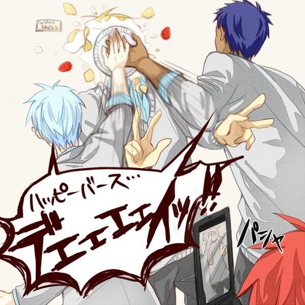 Akashi in the corner though xD