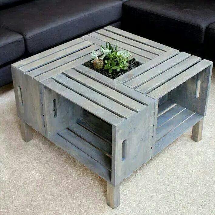 Mesa con cajones