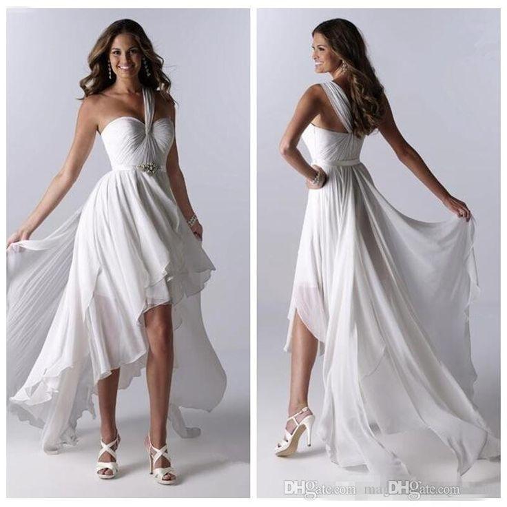The 25 Best High Low Wedding Dresses Ideas On Pinterest