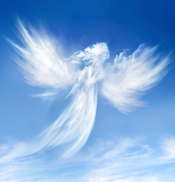 clouds that look like angels | Heavenly Clouds With Angels More heavenly angels