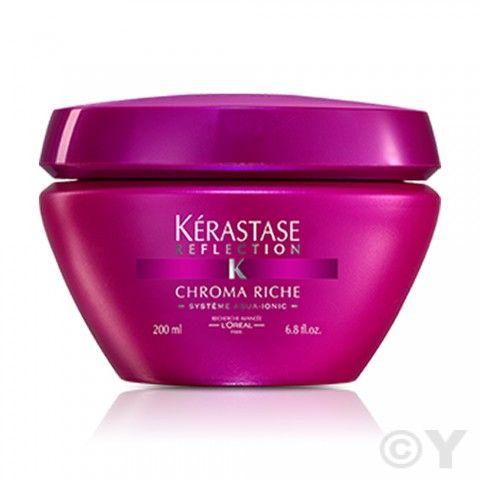 Masque chroma riche de Kerastase pour cheveux très sensibilisés colorés. http://www.y-coiffure-boutique.com/masque-chroma-riche-kerastase-reflection.html