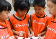 MercyCorps:  Our mission: to alleviate suffering, poverty and oppression by helping people build secure, productive and just communities