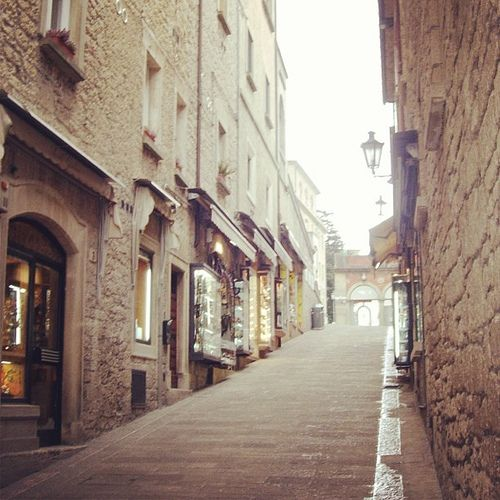 A street in San Marino city center | Flickr – Condivisione di foto!