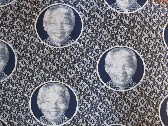 'Proudly South African' fabric