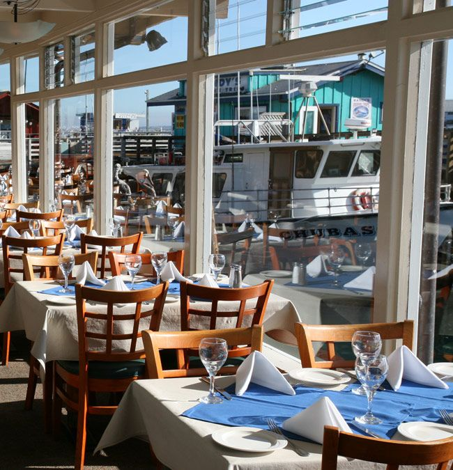 Domenico S On The Wharf Restaurant Fisherman Monterey California Fresh Seafood And Italian Cuisine United States Ca 1