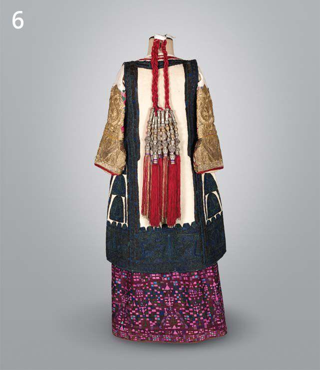 national costume in Kifissia, Attica, Greece, back