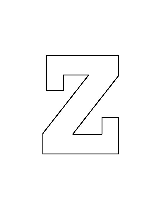 Printable Zebra Print Letters Pictures Printable Zebra Print