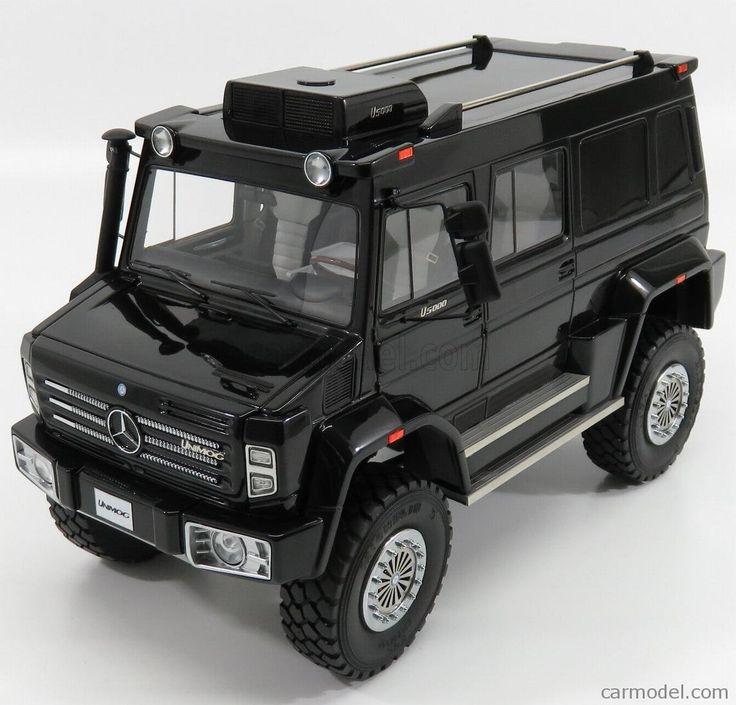 GLM-MODELS GLM18205601 Scale 1/18  MERCEDES BENZ UNIMOG U5000 2013 BLACK