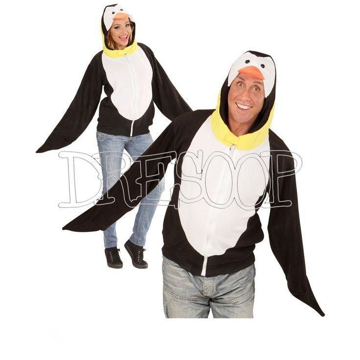 Sudadera disfraz Pingüino adulto - Dresoop.es