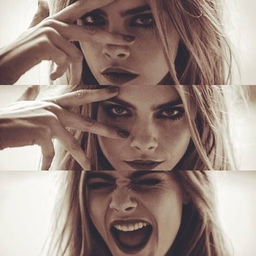Cara Delevingne = one of my favorite human beings on the planet!
