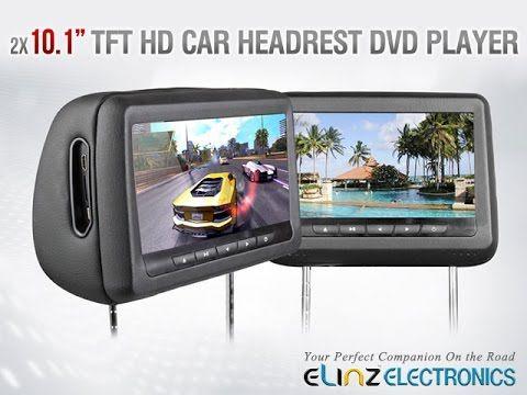 "Get it now - http://www.elinz.com.au/buy/headrest-2x10.1-hd-car-monitor-pillow-hdmi-dvd-pla/H101WPCL  New state of the art dvd player, 10.1"" HD Car Monitor Pillow HDMI DVD Player. It supports RMVB (MP5 format), 32 bits 3D gam..."