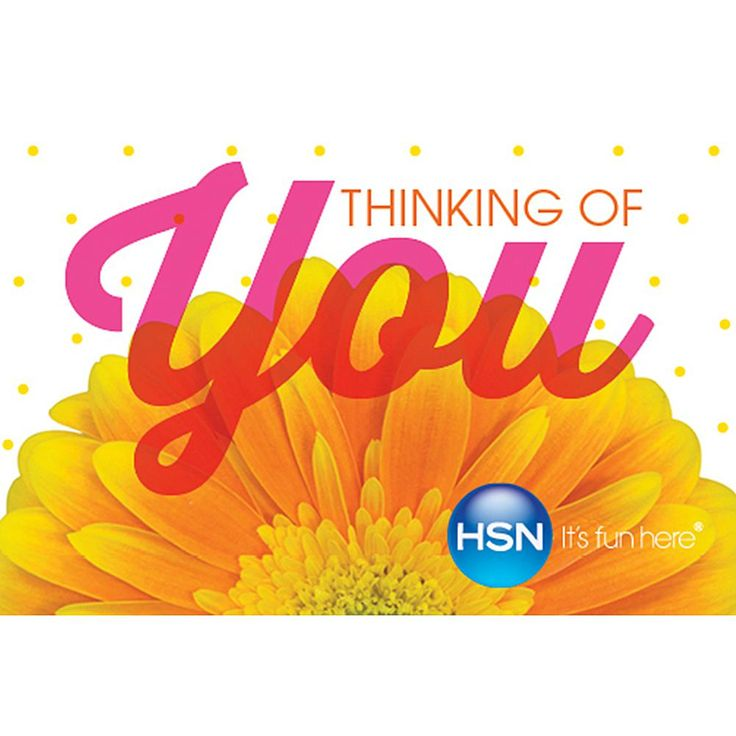 Thinking of You $75.00 HSN Gift Card