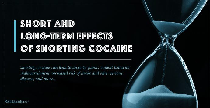 In the short and long term cocaine abuse produces an array of uncomfortable side effects, illness, and disease. Learn more about the effects of snorting cocaine below or call (888) 650-5661 to get help today. #GetHelpNow #CallNow #treatment #addiction #recovery #drugabuse