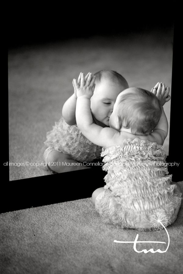 This is a neat pose: Girls Baby Pictures, Baby Photographers, Mirror Mirror, Baby Kiss Pictures, Cute Baby Pictures, Cute Baby Girls Pictures, Adorable Pictures, Baby Photography, Little Girls Pictures