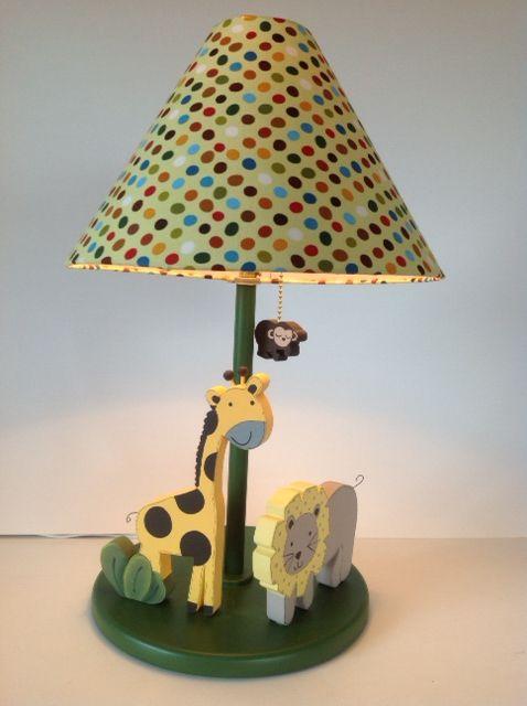 Jungle Lamp. Baby room decor. $60. Design: Under Ten. www.undertencr.net.