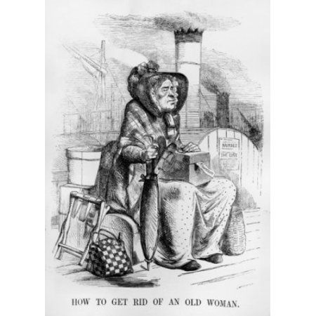 Florance Nightingale cartoon from Punch 1854 Punch the famous comic periodical published a cartoon belittling Nightingales mission London Canvas Art - (18 x 24)