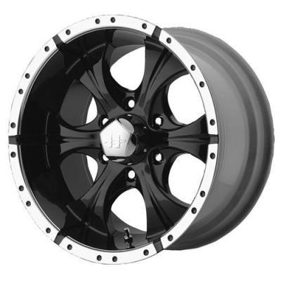 Helo Helo Maxx HE791, 16x8 Wheel with 8 on 6.5 Bolt Pattern - Black- HE7916880900 HE7916880900 Helo… #AutoParts #CarParts #Cars #Automobiles