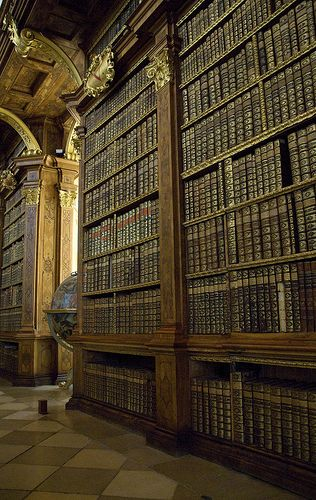 Melk Abbey Library, Austria by Alida's Photos on Flickr