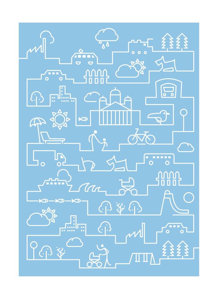 Illustration for Helsinki City Planning Department