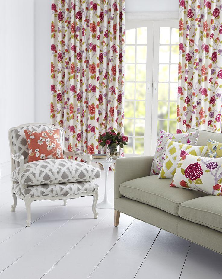 Oriental Trail Collection, Warwick Fabrics / drapery and upholstery #warwickfabrics