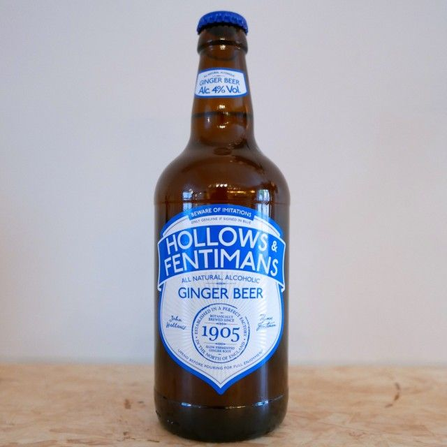 Hollows & Fentimans (alcoholic ginger beer)
