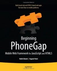 Beginning phonegap mobile web framework for javascript and html5