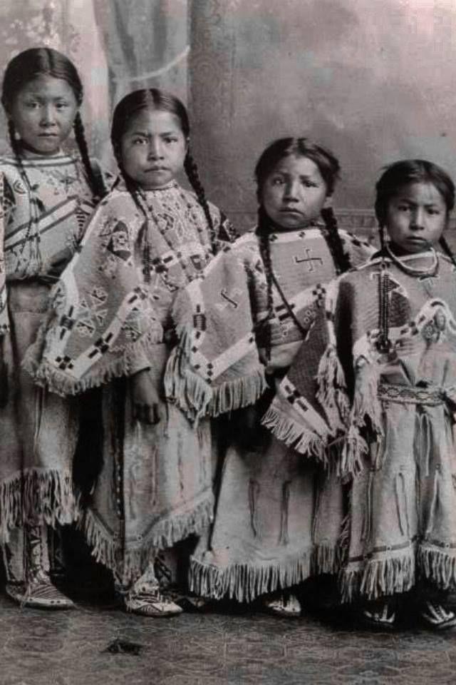 native american children images | unidentified children