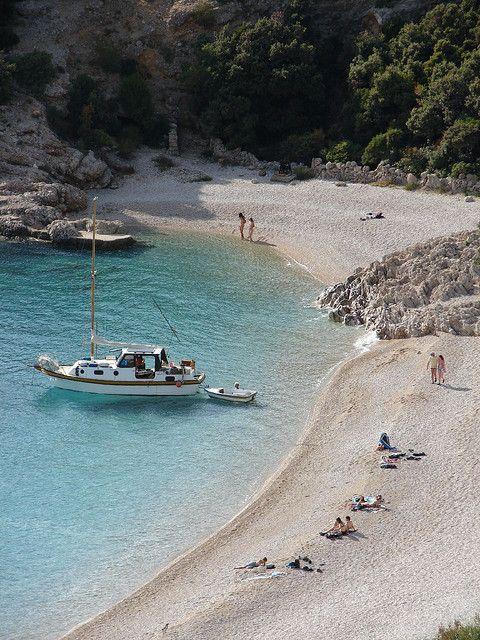 Lubenice Beach,Croatia  #hrvatska #croatia