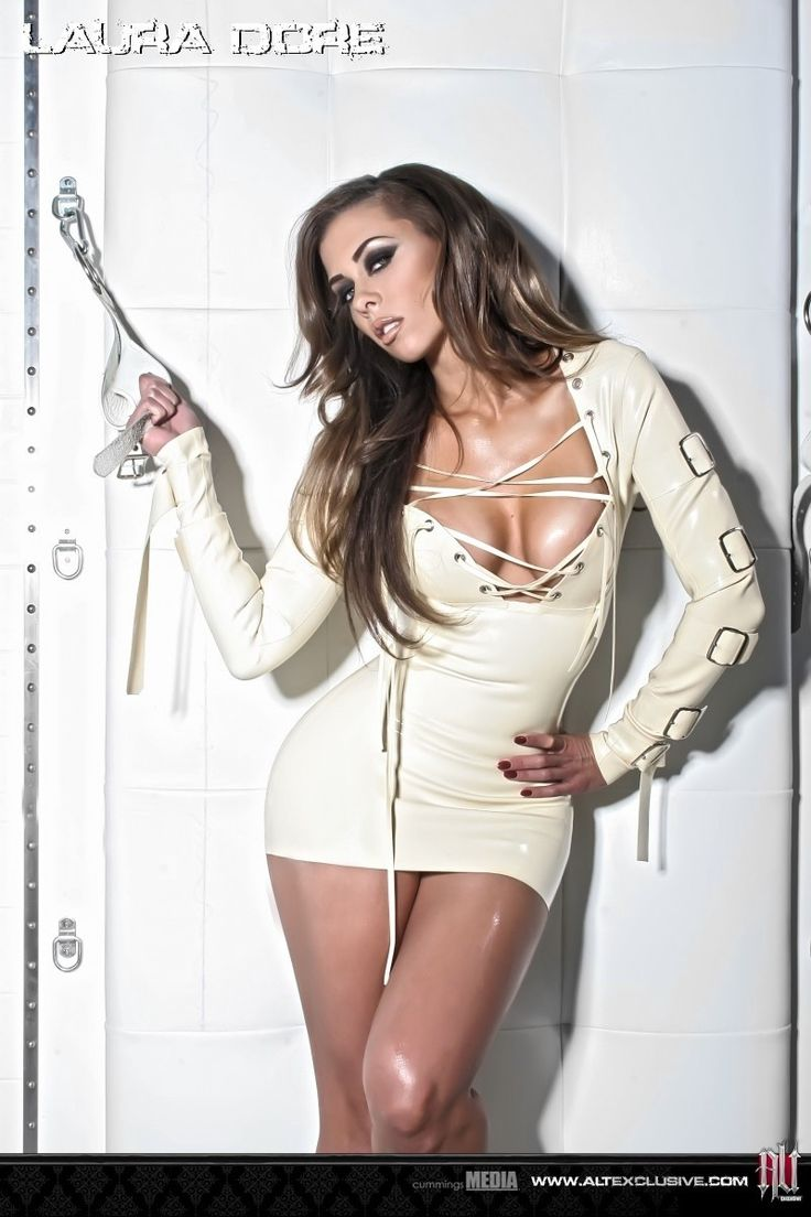 Latex Straight Jacket Dress It Would Look Better On Me