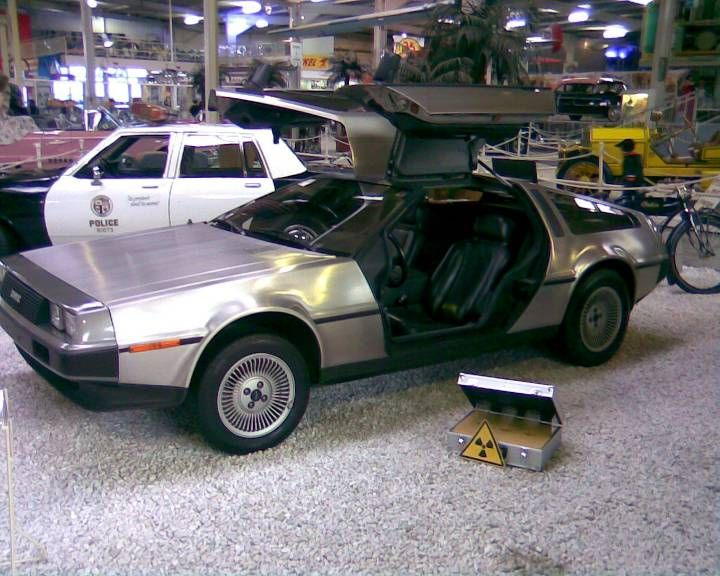 DeLorean, Technikmuseum Sinsheim
