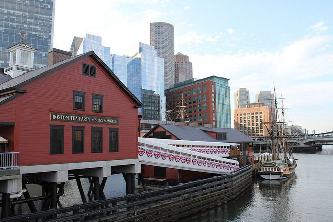 Boston Tea Party Museum is a great way to learn the history of the Boston Harbor and the famous Tea Party.