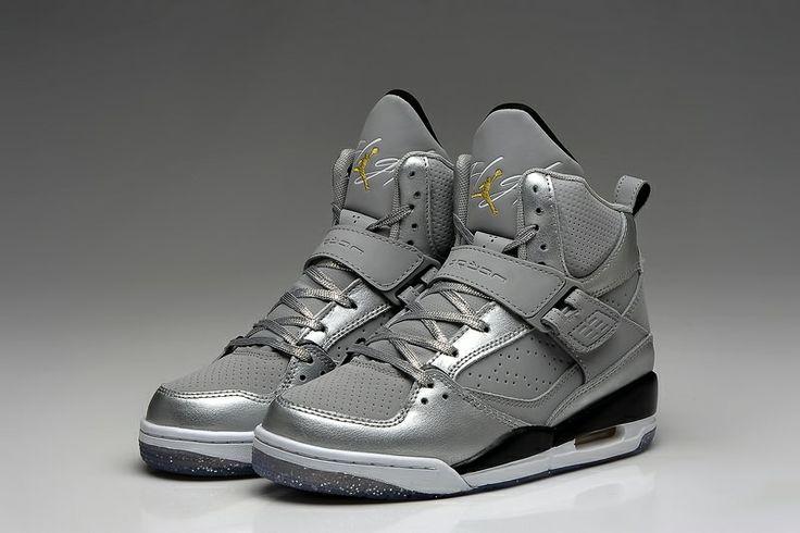 watch 2ce64 5ab06 ... High GS Nike Air Jordan 45 Flight Women AJ45 Dream Silver Girls  Athletics Shoes Air Jordan 45 Flight ...