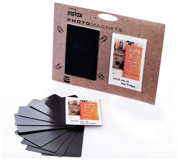 Buy instax mini film fridge magnets at Argos.co.uk, visit Argos.co.uk to shop online for Digital photo printer consumables, Digital photo printers and consumables, Cameras and camcorders, Technology