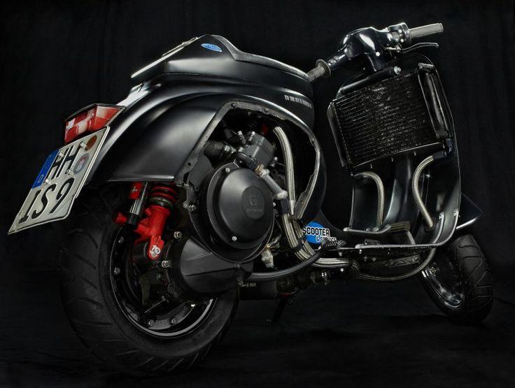 138N Scooter+Service / Scooter & Service #moto #scooter #vespa #piaggio #design #custum