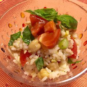 さっぱり美味♡イタリアのライス・サラダ