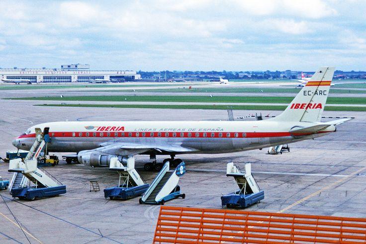 EC-ARC Douglas DC-8-52 Iberia LHR 26JUL66