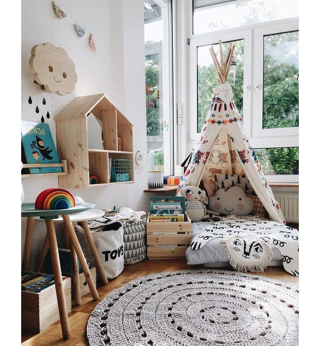 15 ιδέες για το πιο σύγχρονο και δημιουργικό παιδικό δωμάτιο - Missbloom.gr