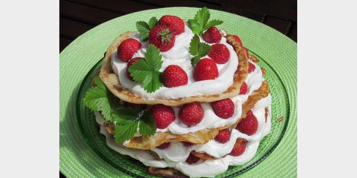 Valmista Lettukakku mansikoilla tällä reseptillä. Helposti parasta!
