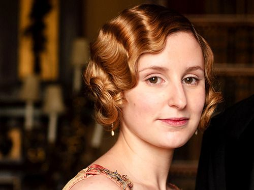 How To: Fake Finger Waves like Edith from Downton Abbey and Charlize Theron