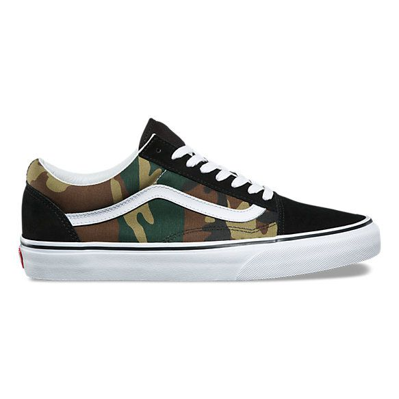 Woodland Camo Old Skool | | Mens vans shoes