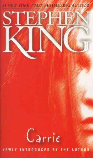 Carrie by Stephen King first Stephen King book I ever read