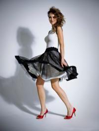 Модели юбок, которые подходят для полных девушек