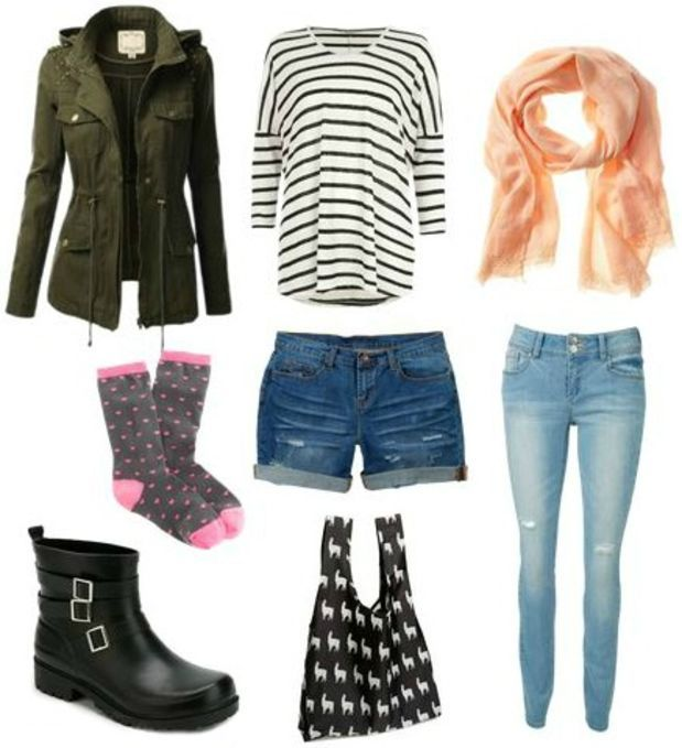 095a93ee76c08 Spring Showers: What to Wear on a Warm Rainy Day | Clothes | Cute rainy day  outfits, Rainy day fashion, Rainy day outfit for school