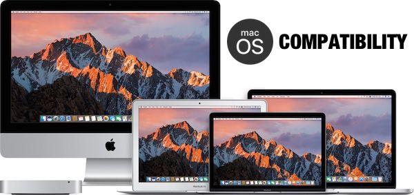 Lista Completa de Mac-uri Compatibile cu macOS Sierra