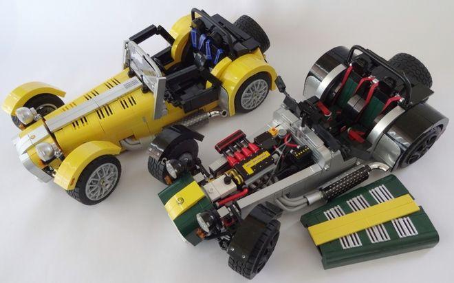 LEGO Ideas - Caterham Super Seven