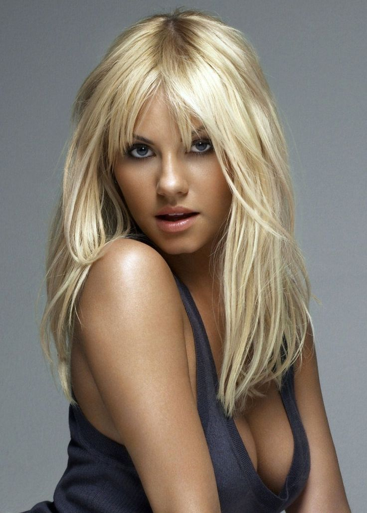 Elisha Cuthbert... love love love her hair