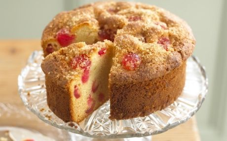 Lyle's® Cherry and Almond Cake Recipe